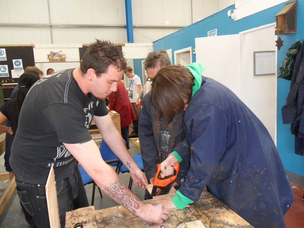 Help and Guidance in the Woodcraft Workshop